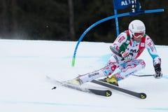 FANARA Thomas (FRA). Alta Badia, ITALY 22 FANARA Thomas (FRA) competing in the Audi FIS Alpine Skiing World Cup MEN'S GIANT SLALOM Stock Image