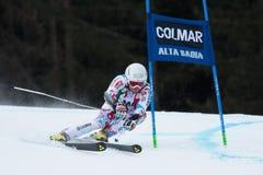 FANARA Thomas (FRA). Alta Badia, ITALY 22 December 2013. FANARA Thomas (FRA) competing in the Audi FIS Alpine Skiing World Cup MEN'S GIANT SLALOM Royalty Free Stock Images