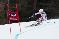 FANARA Thomas (FRA). Alta Badia, ITALY 22 December 2013. FANARA Thomas (FRA) competing in the Audi FIS Alpine Skiing World Cup MEN'S GIANT SLALOM Royalty Free Stock Photography