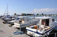 Fanari port Royalty Free Stock Photos