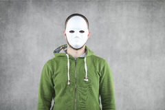 Fanatic. Portrait of aggression man Royalty Free Stock Photos