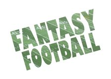 Fanatsy-Fußball-Zeichenikone Stockfotografie
