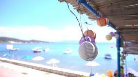 Fancey bollar och sjösida lager videofilmer