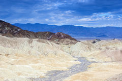 Fanciful Designs Of Zabrislie Point Amargosa Mountain Range in D Royalty Free Stock Image