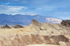 Fanciful Designs Of Zabriskie Point Amargosa Mountain Range in D Royalty Free Stock Image