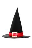 Fanciful head-dress. Hat of the magician on white background Royalty Free Stock Photos