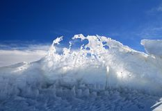 Fanciful Icy Design Royalty Free Stock Images