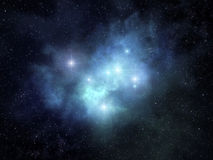 Fanciful nebula Stock Photography