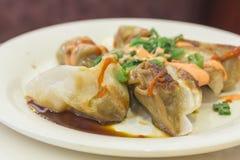 Fancy Asian Dumplings Royalty Free Stock Photos