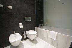 Fancy bathroom royalty free stock image