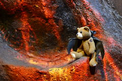 Fancy Bear Doll Teddy Island Pattaya Stock Image