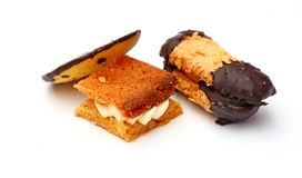 Fancy biscuits - cookies Royalty Free Stock Photography