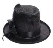Fancy black hat Royalty Free Stock Photo