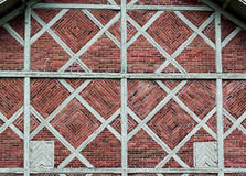 Fancy brickwork Stock Images