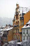 Fancy building, Karlovy Vary Royalty Free Stock Photo