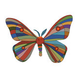 Fancy butterfly Stock Photography