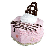 Fancy cake. Pastry, isolated on white, clipping path included Royalty Free Stock Photos
