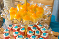 Fancy cake Stock Photos