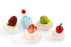Fancy cakes Royalty Free Stock Images