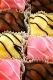 Fancy cakes stock image