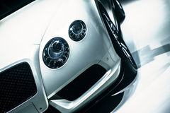 Fancy Car. Fancy New Transportation Car Concept Photo Stock Photo