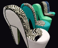Fancy chair Stock Image