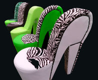 Fancy chair Royalty Free Stock Photography