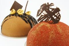 Fancy Chocolate Cake royalty free stock photos