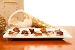 Fancy Chocolates Royalty Free Stock Photos