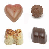 Fancy chocolates Royalty Free Stock Images