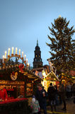 Fancy Christmas market Royalty Free Stock Image