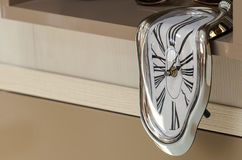 Fancy clock Royalty Free Stock Photography