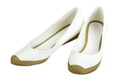 Fancy Cloth  Shoes Stock Image