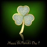 Fancy Clover Leaf Royalty Free Stock Photography