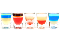 Fancy cocktail drinks alcohol cocktails Royalty Free Stock Photos
