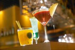 Fancy Cocktails Stock Image