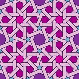 Fancy Color Seamless geometric ornament Islamic style royalty free illustration
