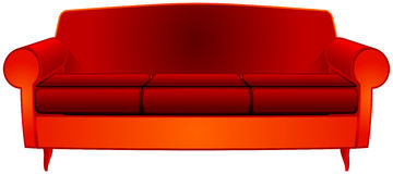 Fancy couch Stock Photo