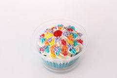 Fancy cup cake Royalty Free Stock Photography