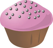 Fancy cupcake Royalty Free Stock Images