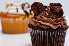 Fancy cupcakes Royalty Free Stock Photo