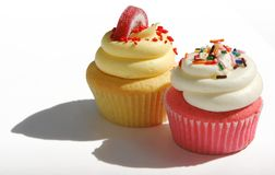 Fancy cupcakes Royalty Free Stock Images