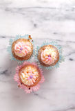 Fancy cupcakes Royalty Free Stock Image