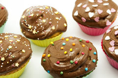 Fancy cupcakes Stock Images