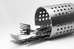 Fancy Cutlery Set Royalty Free Stock Photography