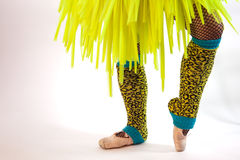 Fancy Dance Costume Stock Images