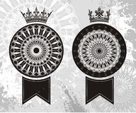 Fancy decorative ribbons Royalty Free Stock Images