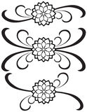 Fancy Detailed Decorations 77 royalty free illustration