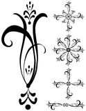 Fancy Detailed Decorations Art Stock Photography