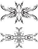 Fancy Detailed Decorations Orn Royalty Free Stock Photos